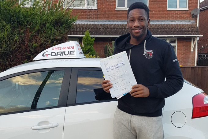 omar-bogle-passes-driving-test